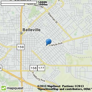 map of a b gold jewelry inc