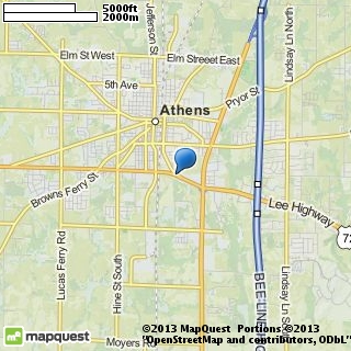 map of americ equipment rental inc