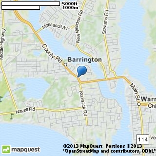 map of barrington bridal boutique