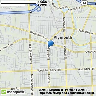 map of bridal couture of plymouth