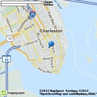 map of charleston photo video