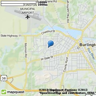 map of cornerstone ministries