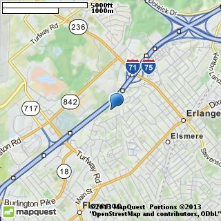 map of erlanger lion's club