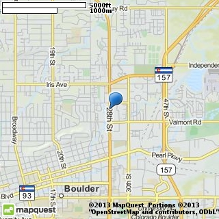 map of finishing touch salon & spa