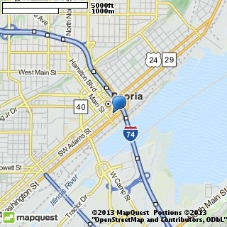 map of flipside dj service
