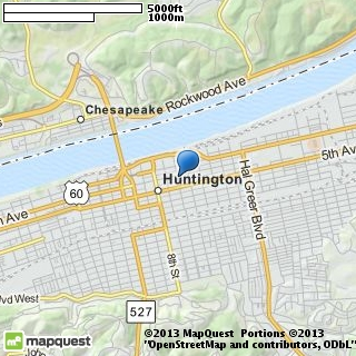map of huntington pawn & jewelers