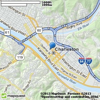 map of kanawha coin & relics