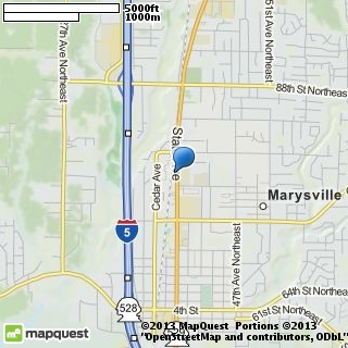 map of marysville cleaners