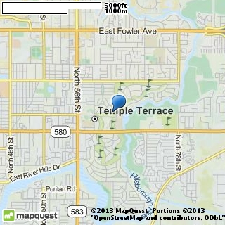 map of temple terrace community church
