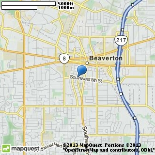 map of unity church of beaverton