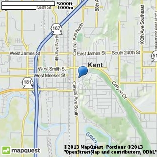 map of unity church of kent